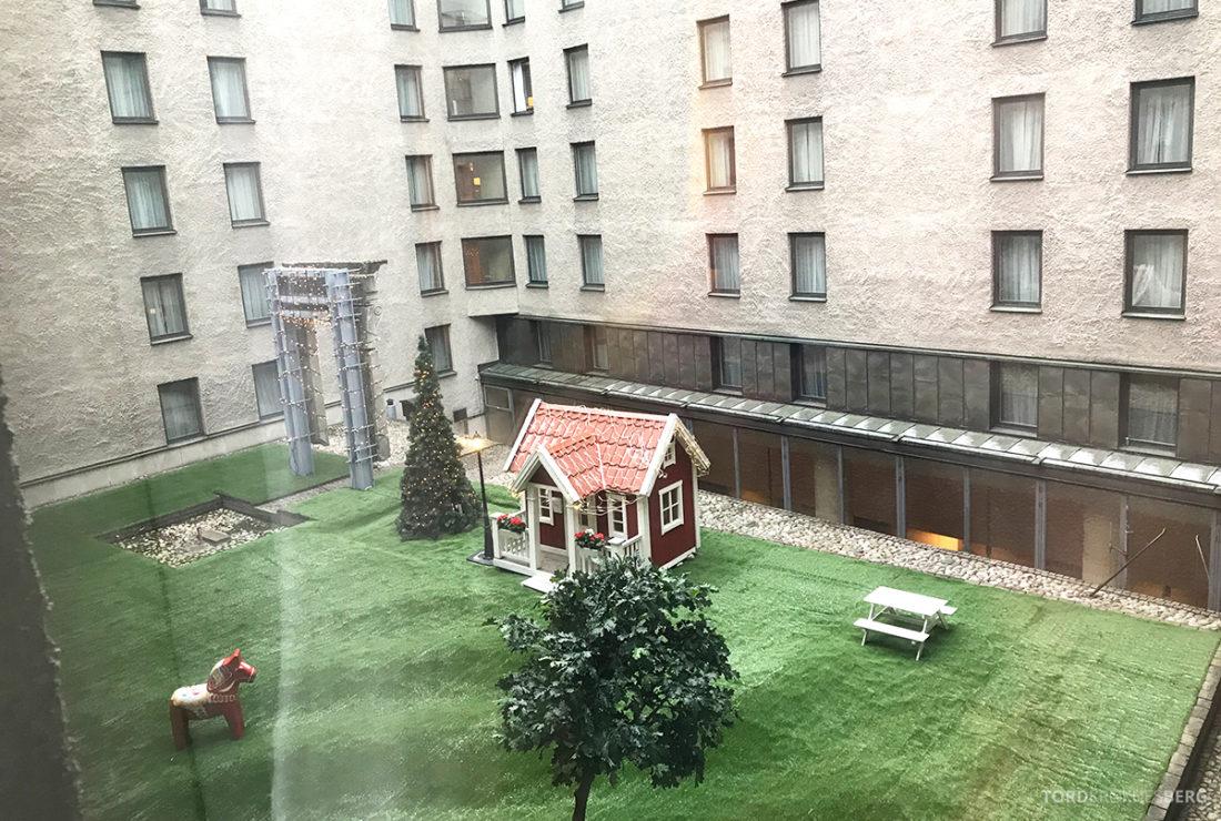 Sheraton Hotel Stockholm bakgård