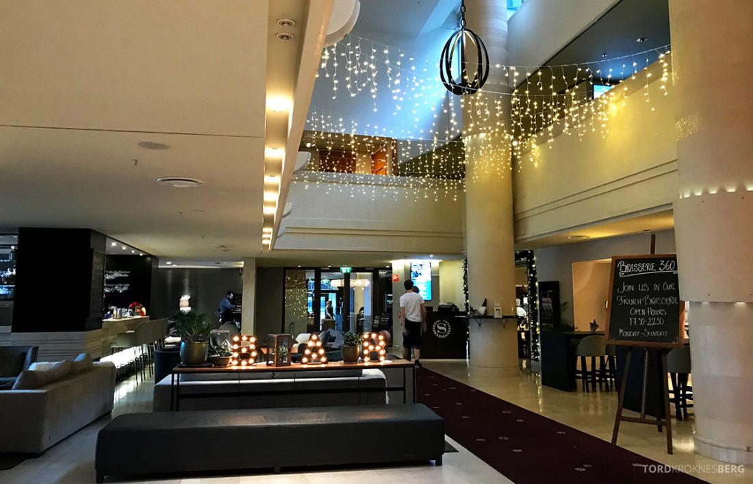 Sheraton Hotel Stockholm lobby