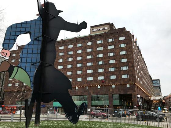 Sheraton Hotel Stockholm fasade