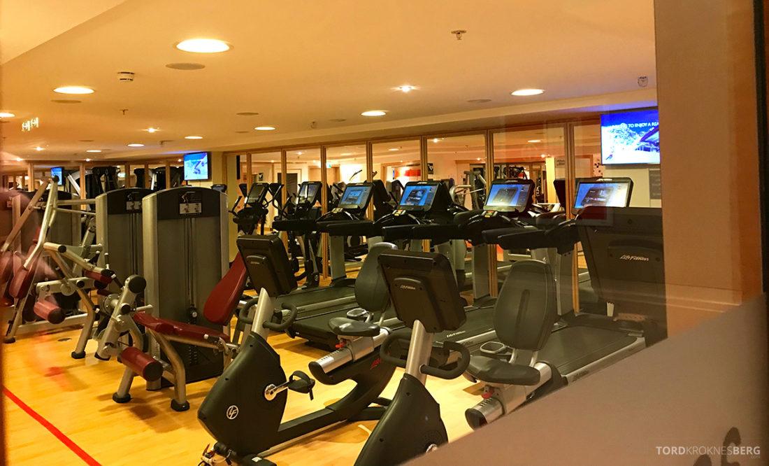Sheraton Hotel Stockholm gym