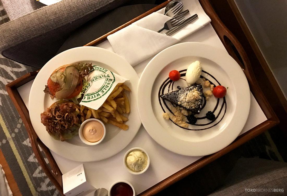 Sheraton Hotel Stockholm room service