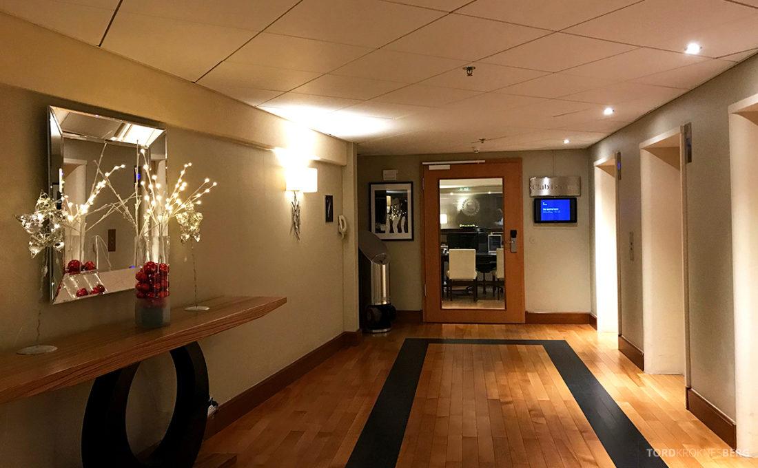 Sheraton Hotel Stockholm Club Floor