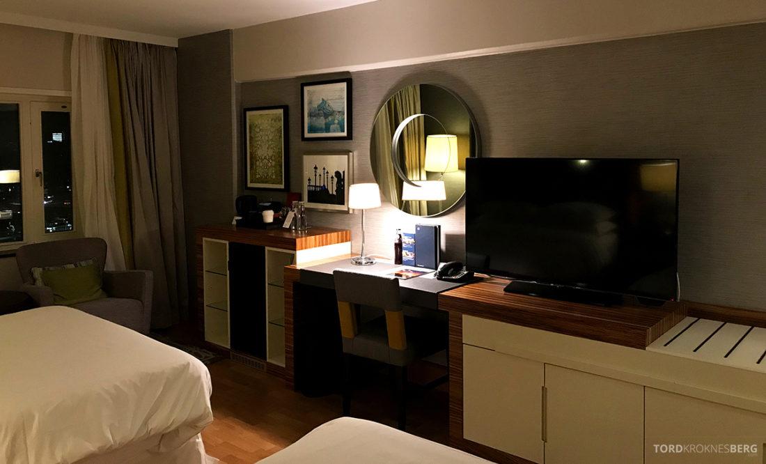 Sheraton Hotel Stockholm fjernsyn