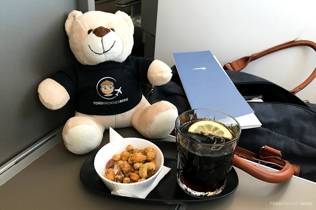 British Airways Club World Business Class London Seoul appetittvekker