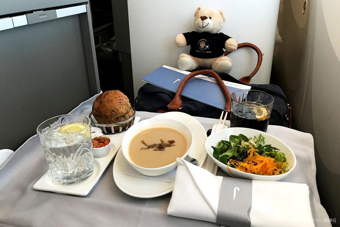 British Airways Club World Business Class London Seoul forrett