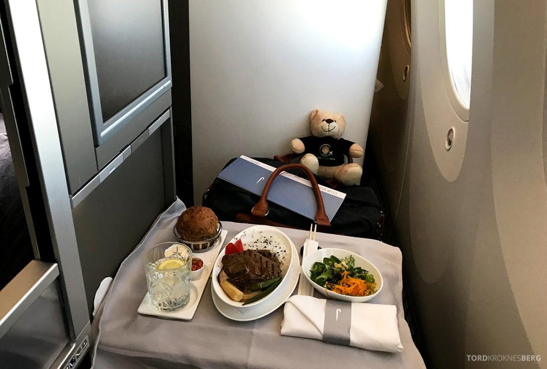 British Airways Club World Business Class London Seoul hovedrett