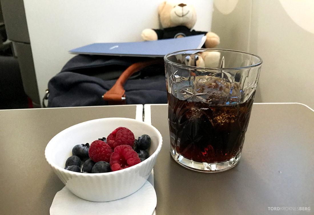 British Airways Club World Business Class London Seoul bær