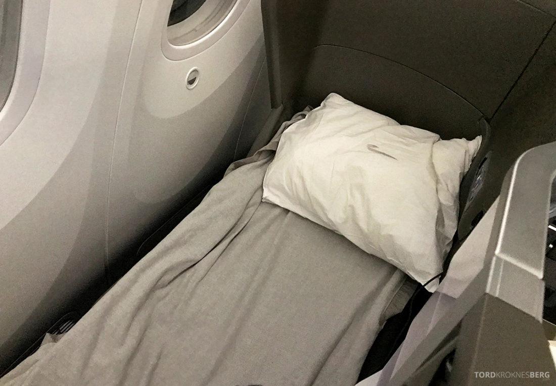 British Airways Club World Business Class London Seoul seng