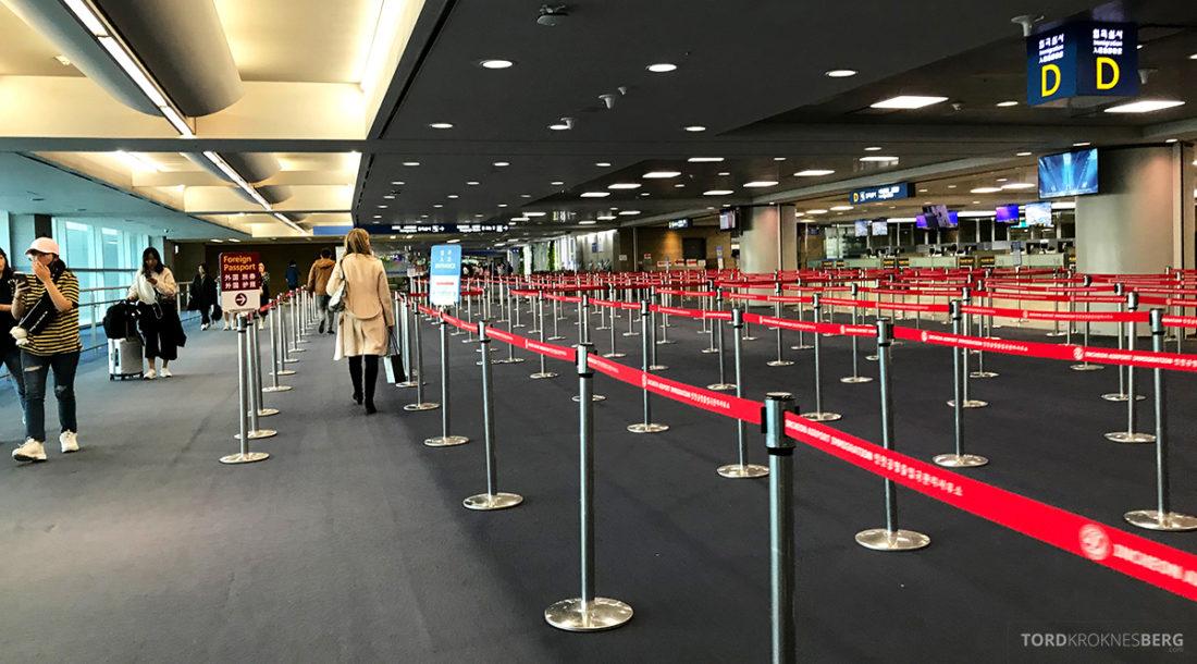 British Airways Club World Business Class London Seoul immigrasjon