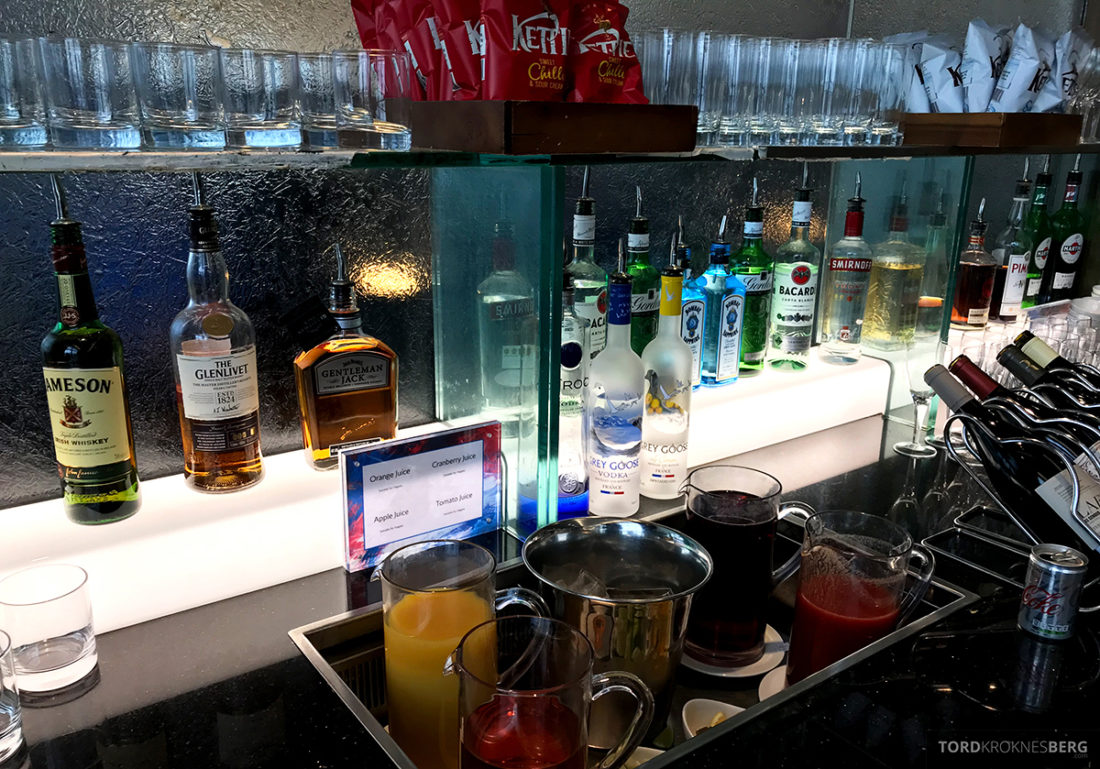 British Airways Galleries Club Lounge Heathrow London bar