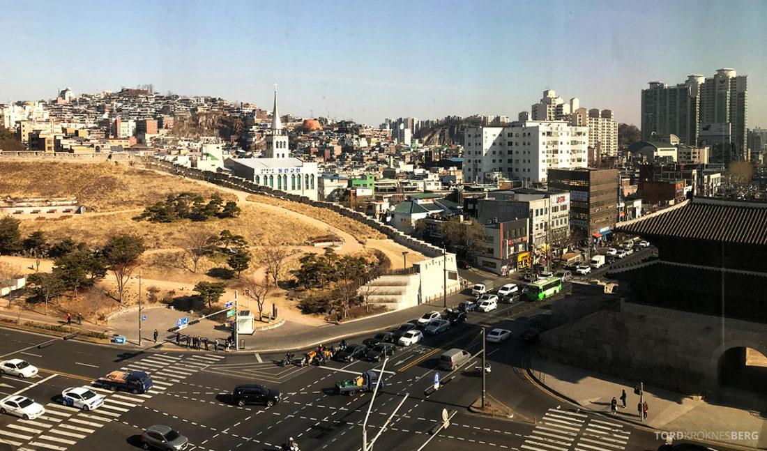 JW Marriott Dongdaemun Square Hotel Seoul utsikt