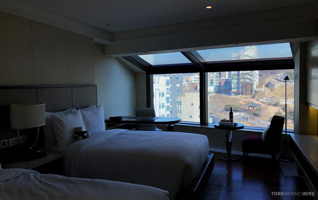 JW Marriott Dongdaemun Square Hotel Seoul executive room utsikt