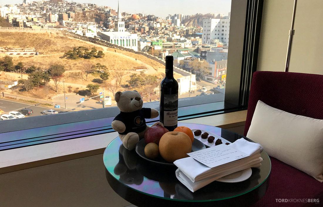 JW Marriott Dongdaemun Square Hotel Seoul velkomstgave