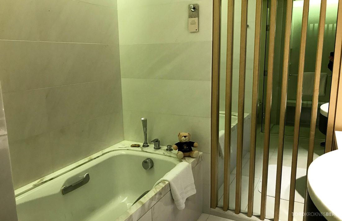 JW Marriott Dongdaemun Square Hotel Seoul badekar