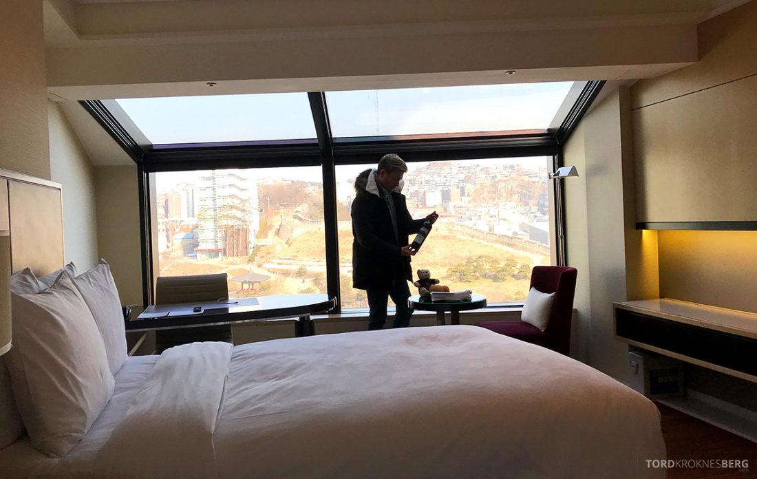 JW Marriott Dongdaemun Square Hotel Seoul velkomstgave Tord Kroknes Berg