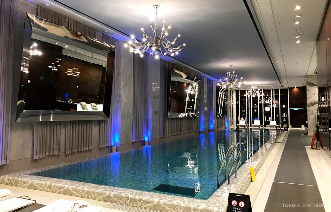 JW Marriott Dongdaemun Square Hotel Seoul basseng