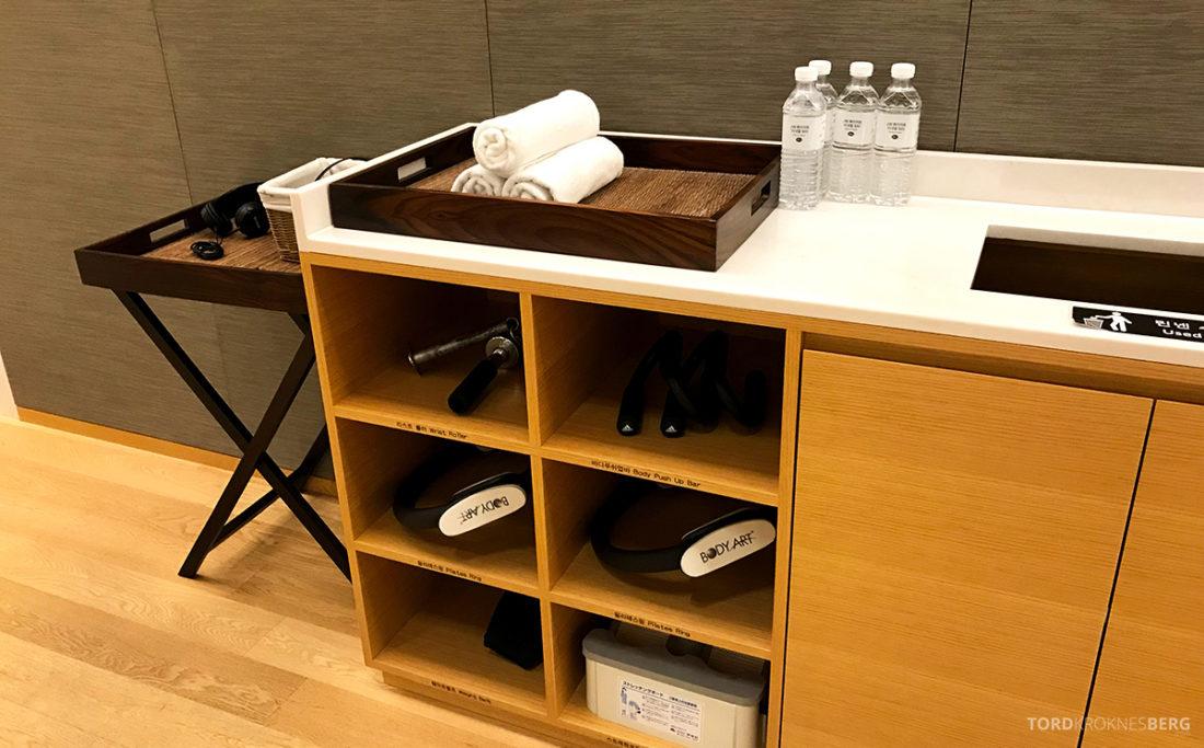 JW Marriott Dongdaemun Square Hotel Seoul håndklær og vann