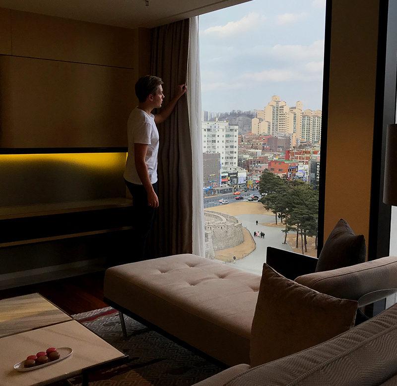 JW Marriott Dongdaemun Square Hotel Seoul suite Tord Kroknes Berg