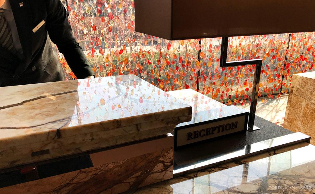 JW Marriott Dongdaemun Square Hotel Seoul resepsjon