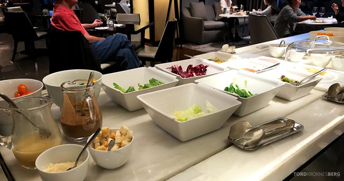 JW Marriott Dongdaemun Square Hotel Seoul Executive Lounge salat