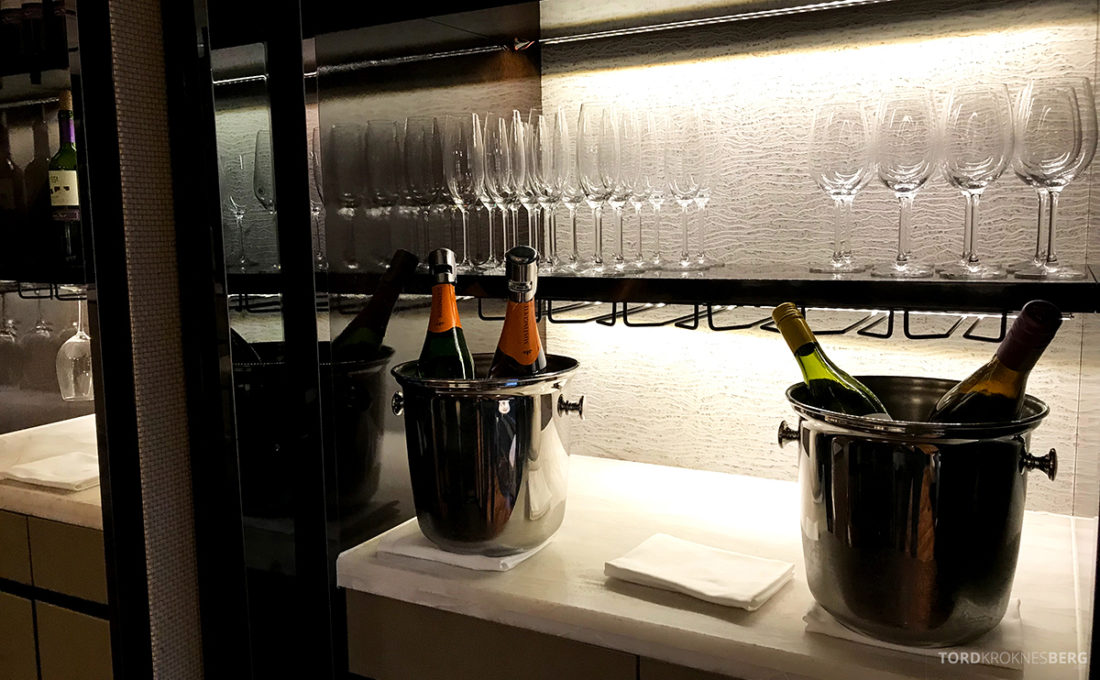 JW Marriott Dongdaemun Square Hotel Seoul Executive Lounge champagne