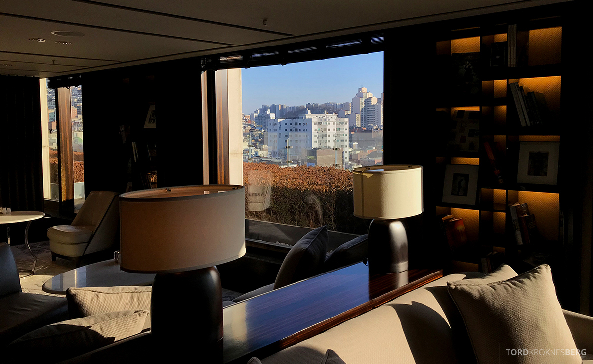 JW Marriott Dongdaemun Square Hotel Seoul Executive Lounge lokale