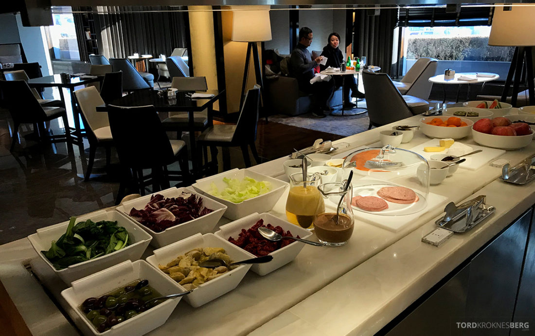 JW Marriott Dongdaemun Square Hotel Seoul Executive Lounge kaldmat frokost