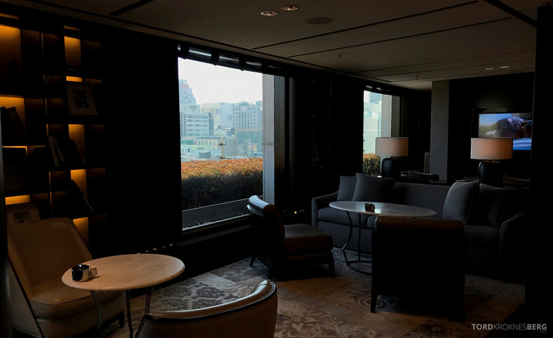 JW Marriott Dongdaemun Square Hotel Seoul Executive Lounge sofa