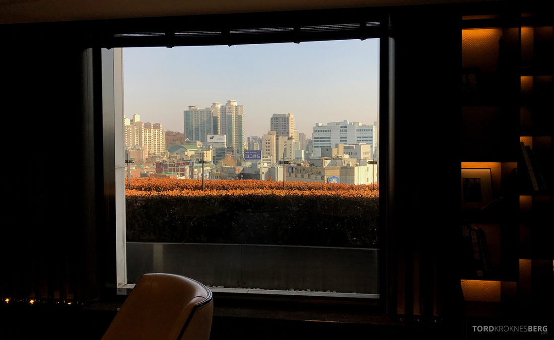 JW Marriott Dongdaemun Square Hotel Seoul Executive Lounge vindu