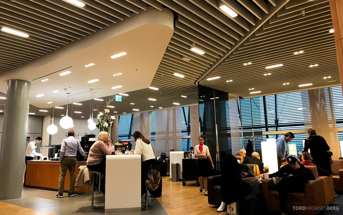 Lufthansa Senator Lounge London Heathrow folksomt