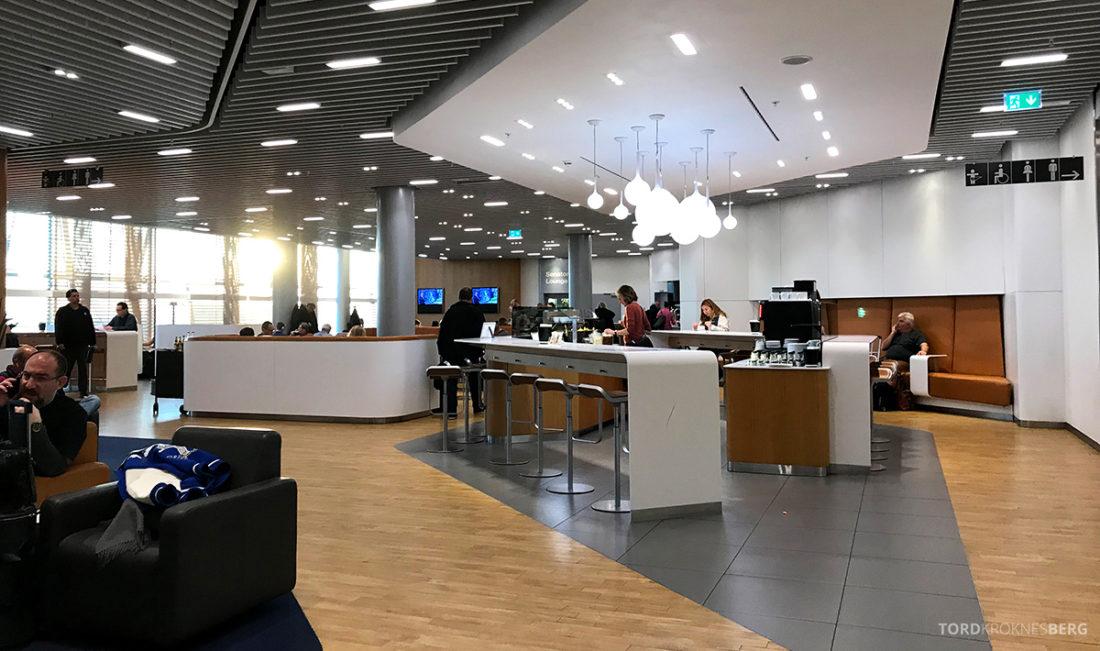 Lufthansa Senator Lounge London Heathrow Business Lounge