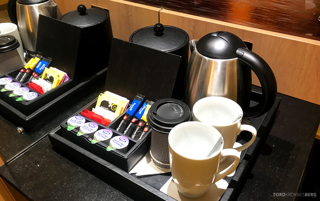 Renaissance Hotel Heathrow London kaffe