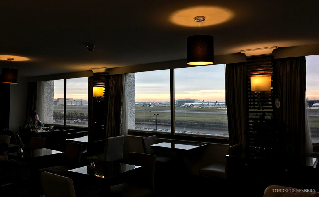 Renaissance Hotel Heathrow London Executive Lounge utsikt