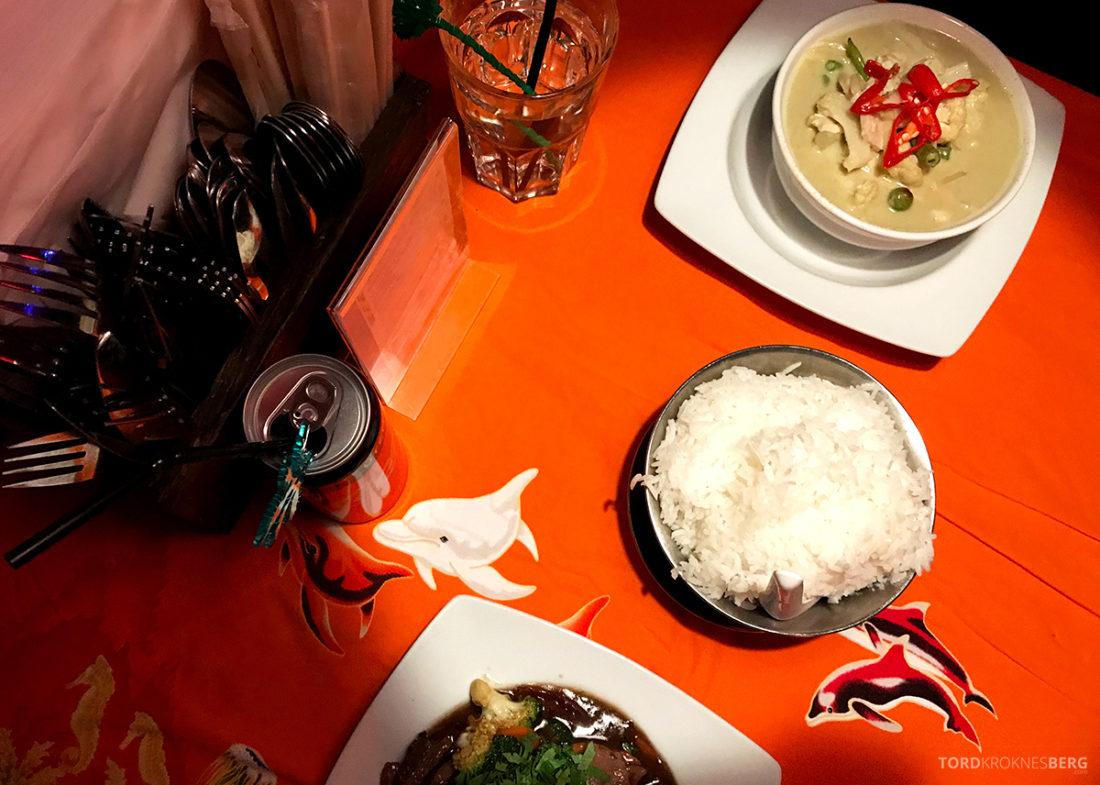Yaya's Restaurant Oslo middag