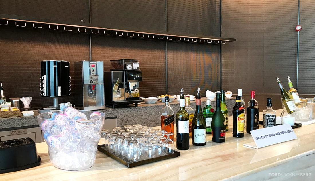Asiana Business Lounge Seoul alkohol