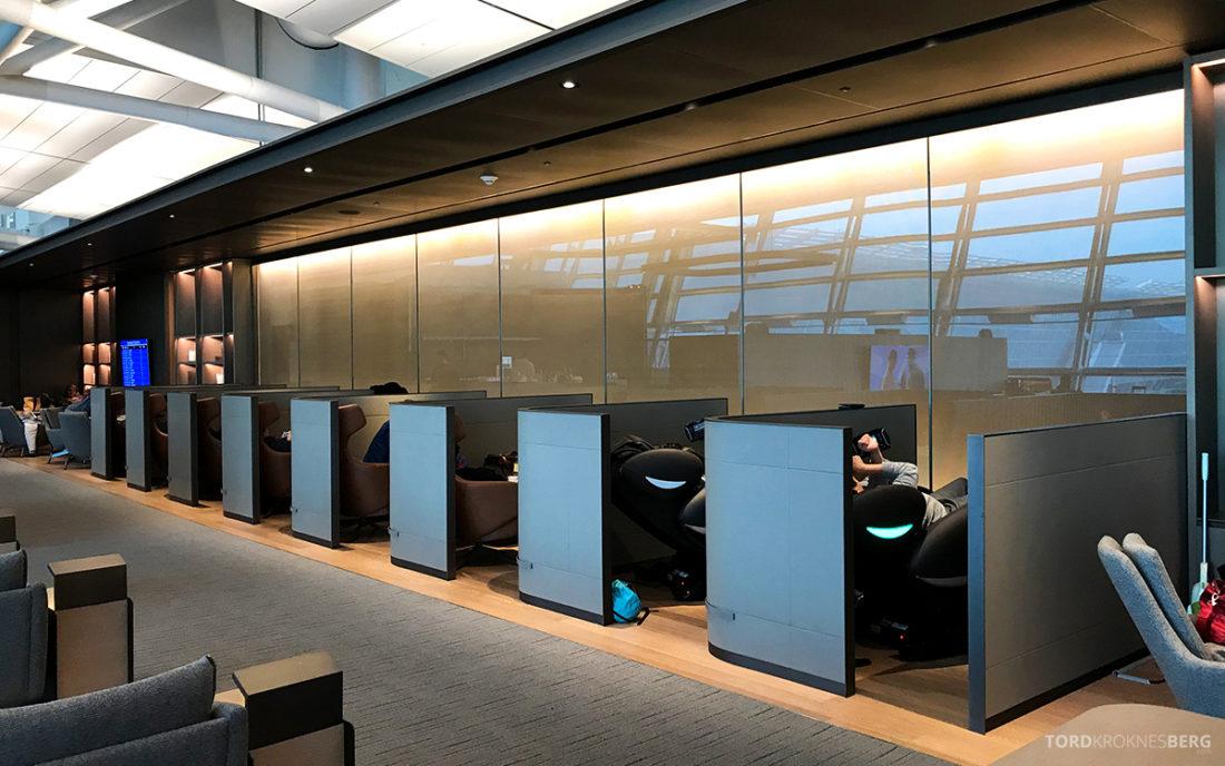 Asiana Business Lounge Seoul avslapning