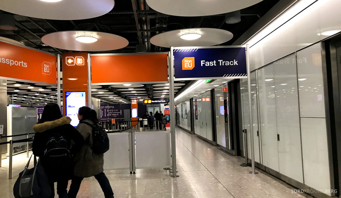 British Airways Club World Seoul London fast track