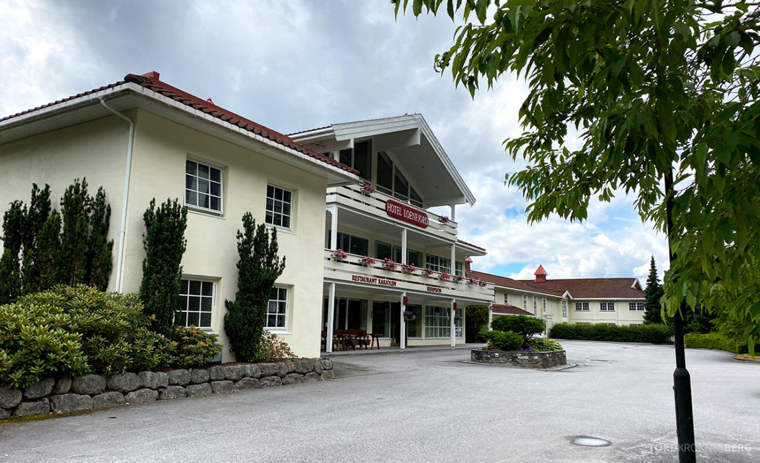 Hotel Loenfjord Stryn fasade