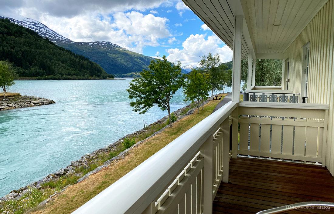 Hotel Loenfjord Stryn utsikt balkong