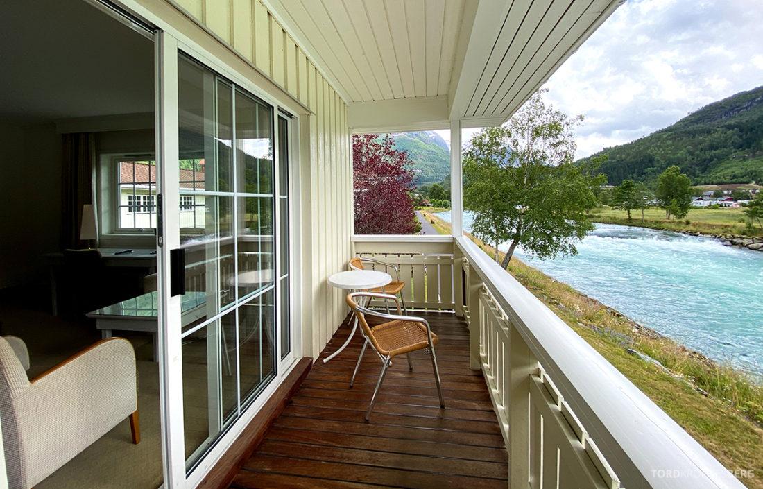 Hotel Loenfjord Stryn balkong