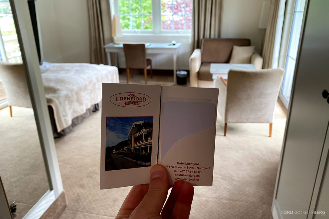 Hotel Loenfjord Stryn nøkkelkort