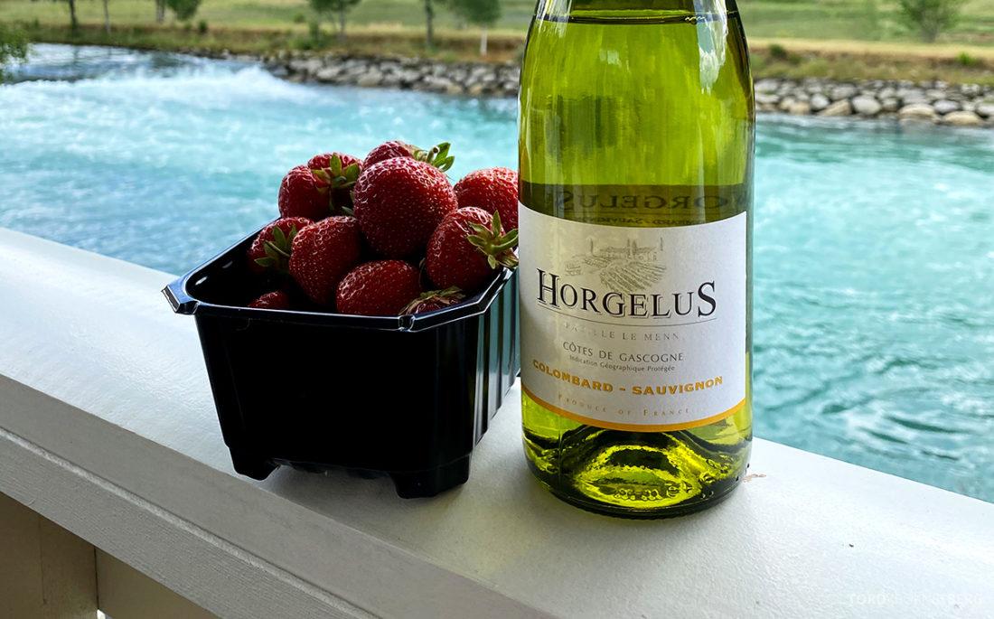 Hotel Loenfjord Stryn jordbær og vin