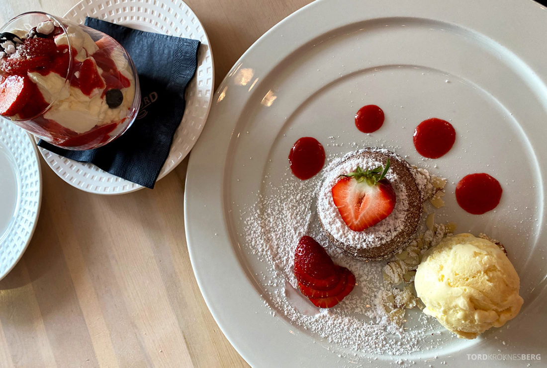 Hotel Loenfjord Stryn dessert