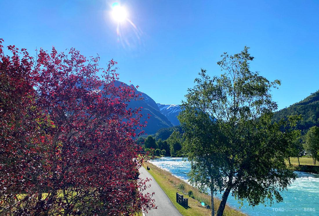 Hotel Loenfjord Stryn utsikt