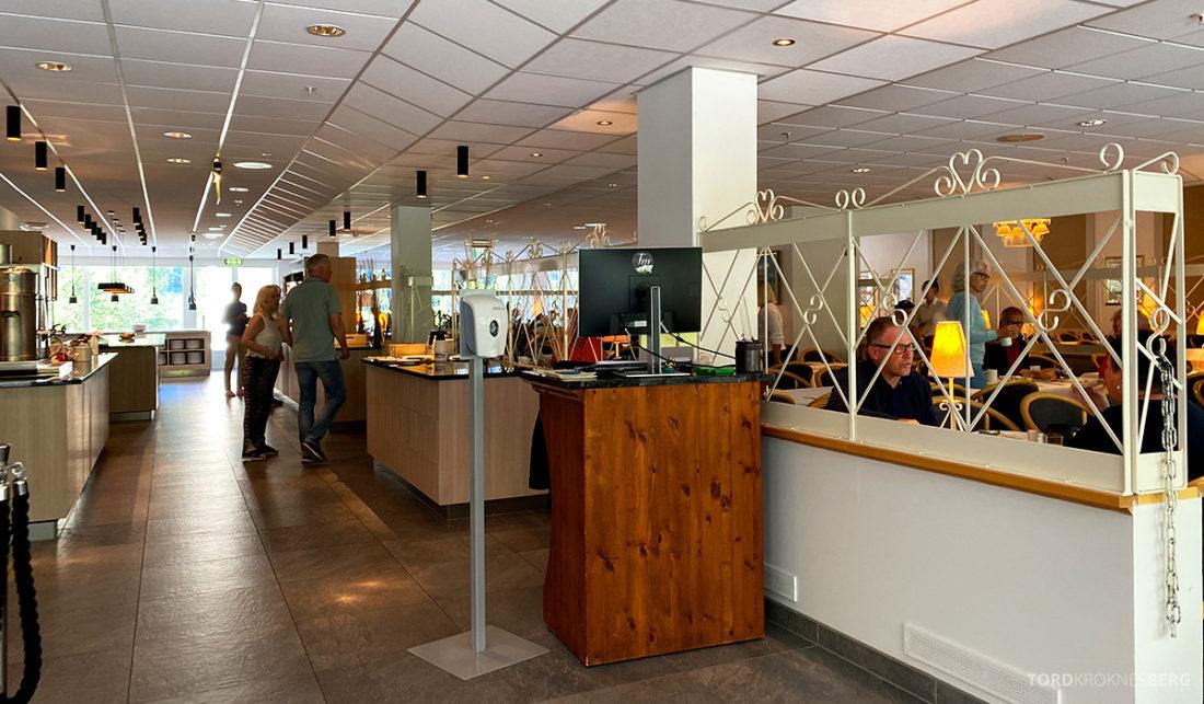 Hotel Loenfjord Stryn frokostsal