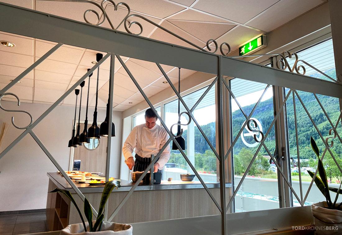 Hotel Loenfjord Stryn kokk frokost