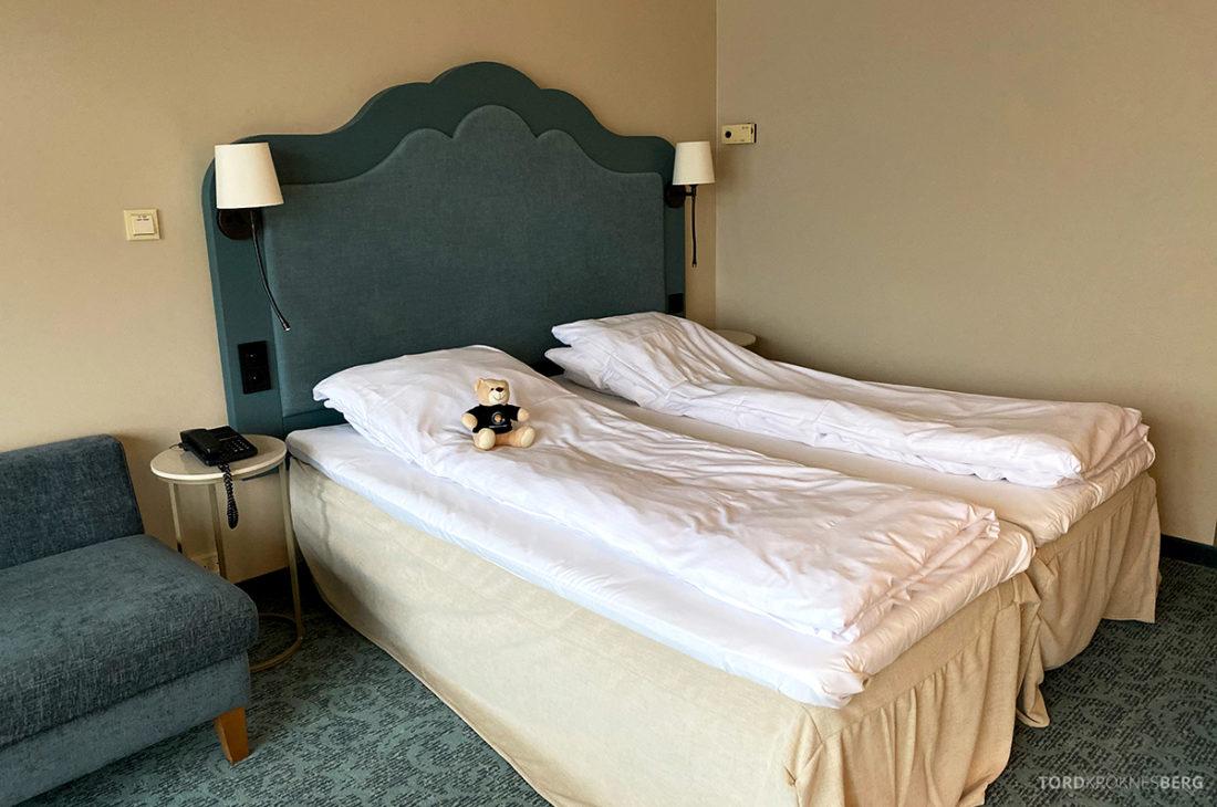 Hotel Ullensvang Hardanger Norge seng