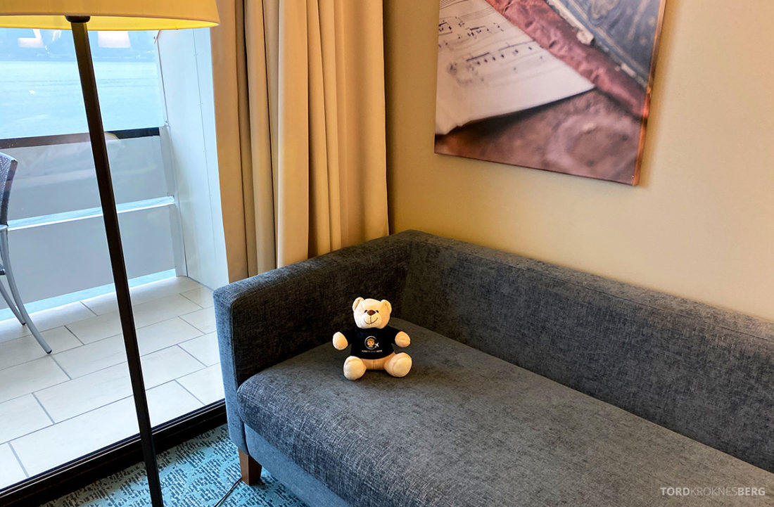Hotel Ullensvang Hardanger Norge sofa