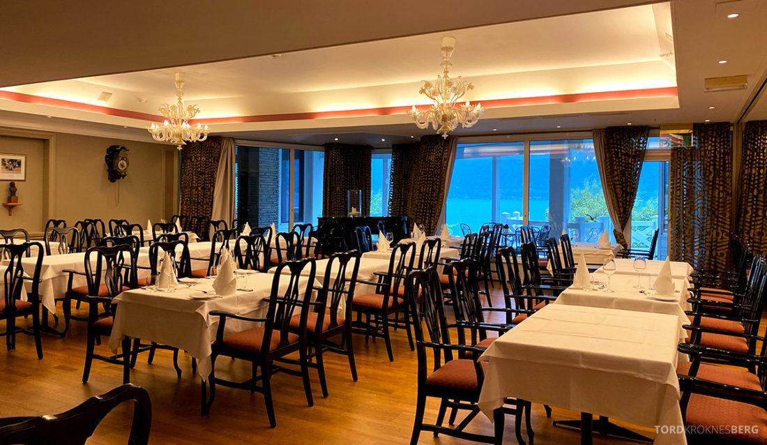 Hotel Ullensvang Hardanger Norge restaurant selskapslokale