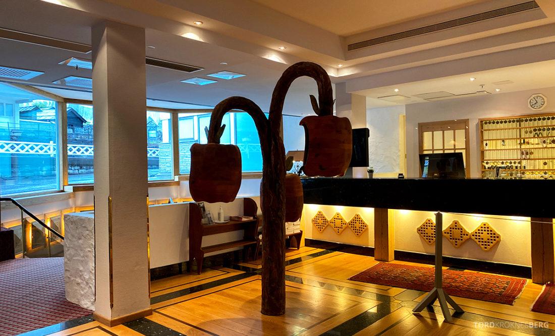 Hotel Ullensvang Hardanger Norge resepsjon
